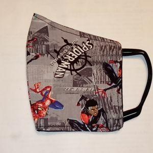 Kids Spiderman Reversible Face Mask